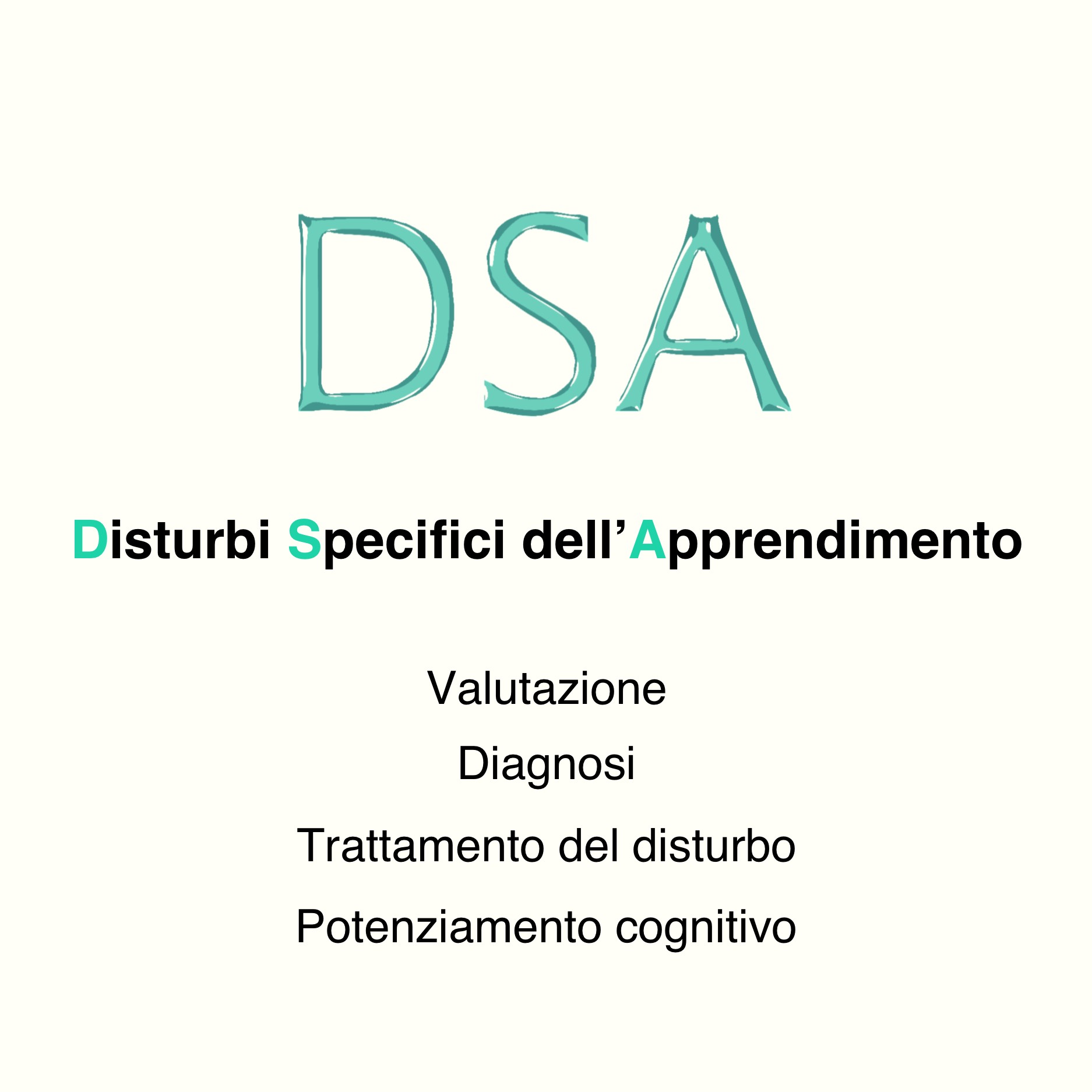 Disturbi specifici dell